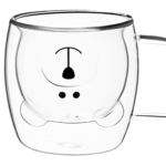 Cup set Ardesto Animals with double walls AR2625GHA