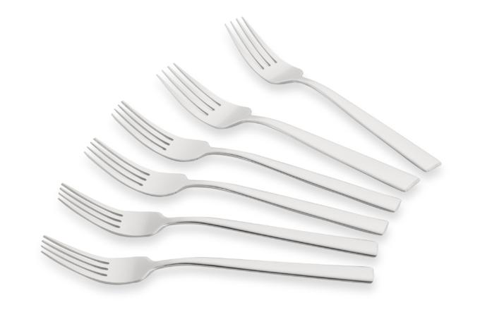 Cutlery fork set Black Mars Vanessa AR0706VF