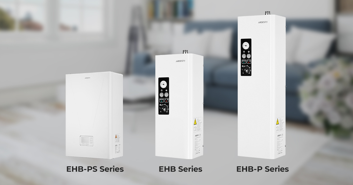 Get ready for the heating season in summer with the new single-circuit Ardesto boilers